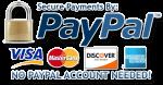 méthode de paiement paypal visa pour passer commande sur orthorepass osgood schlatter et sever