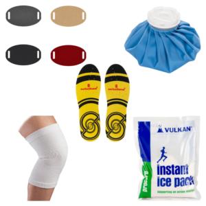 semelles sorbothane support genou orthese osgood et poche à glace